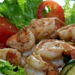 Grilled Shrimp Dinner