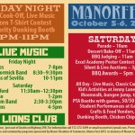 21st Annual Manor Fest is Oct 5-6 – don't miss it!