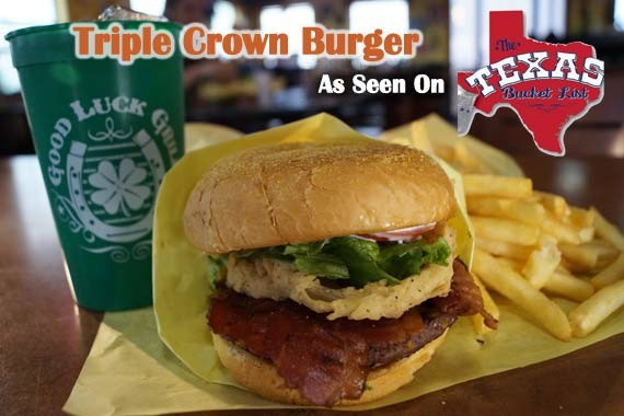 Triple Crown Burger Slider